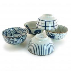 set of 5 Japanese soup bowls 16M1631043