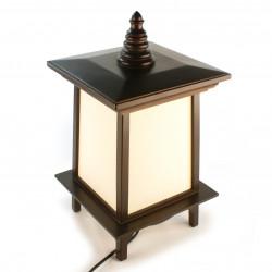 Lampe de table japonaise PUGGI 1 noire