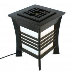 Lampe de table japonaise noire AKIDA