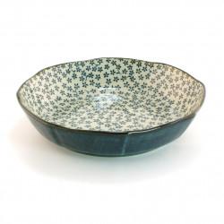 Japanese soup plate round ceramic KAKKM50