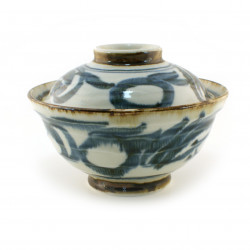 Japanese soup bowl or rice Donburi with lid MYA5243033E