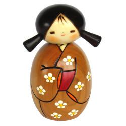 poupée japonaise Kokeshi Doll en bois - Haruyokoi