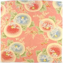 pink japanese furoshiki Botankiku