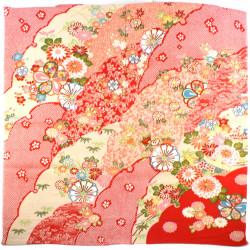 red japanese furoshiki Kikka