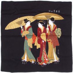 furoshiki japonais noir - Yugaeri