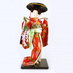 Japanese doll OYAMA DOLL - Fuji Musume