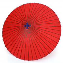big red japanese umbrella