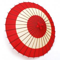 ombrelle japonaise rouge