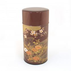 Japanese tea tin15NIT162KRO
