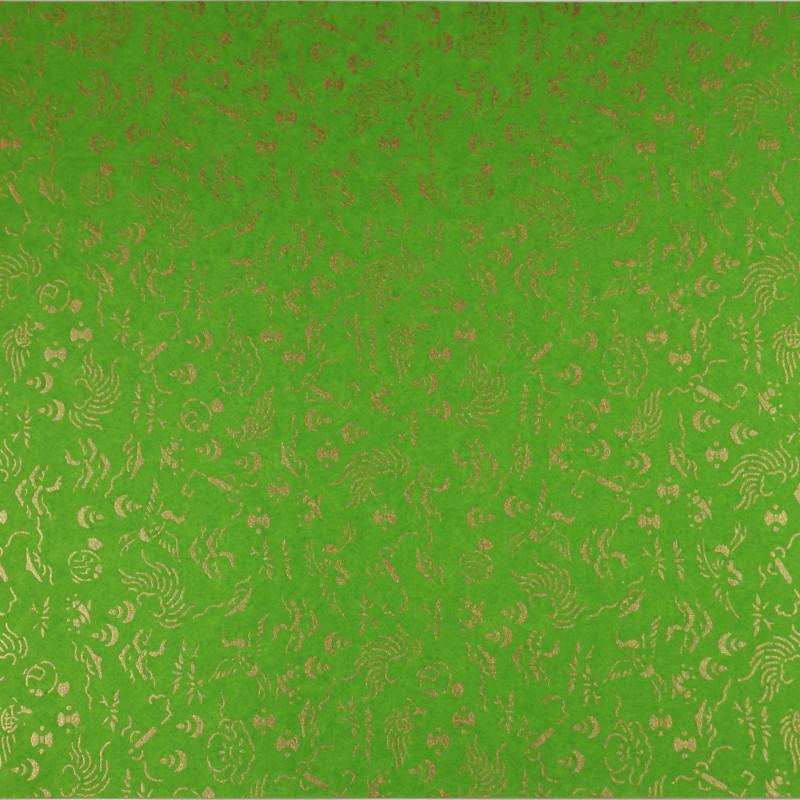 papier japonais Yusen Washi designed By Taniguchi Kyoto Japan 8015