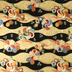 Japanese Washi paper Yuzen designed By Taniguchi Kyoto Japan 8025
