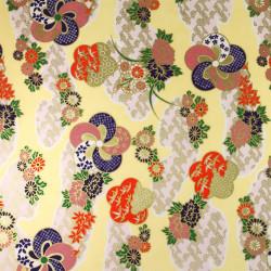 Japanese Washi paper Yuzen designed By Taniguchi Kyoto Japan 8022-2
