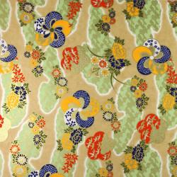 Japanese Washi paper Yuzen designed By Taniguchi Kyoto Japan 8022-3