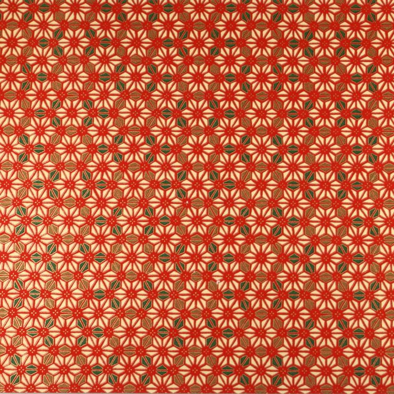 papier japonais Yuzen Washi designed By Taniguchi Kyoto Japan 8021