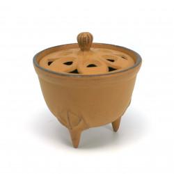 Japanese cast iron incense holder
