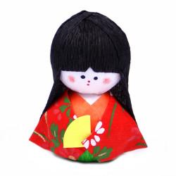 bambola giapponese, fatta di carta - okiagari, MEIKO, geisha