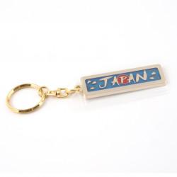 porte-clés métallique, doré, Japon