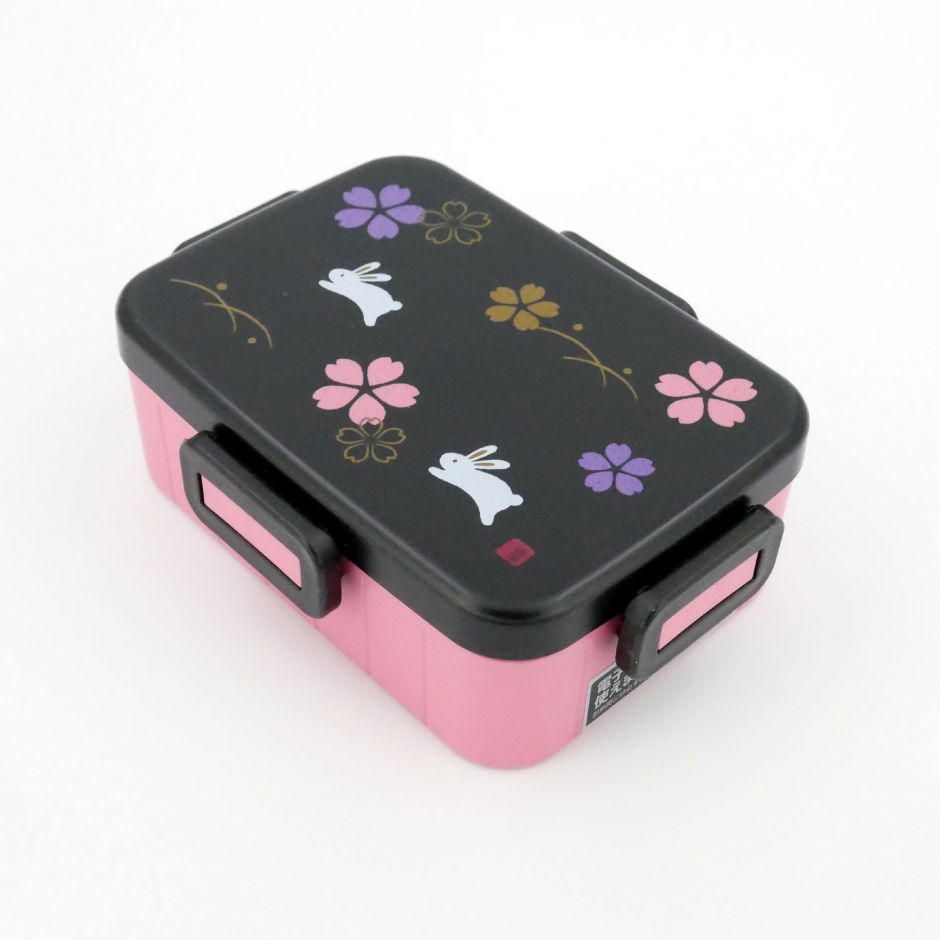 japanese bento box lunch box pink. Black Bedroom Furniture Sets. Home Design Ideas