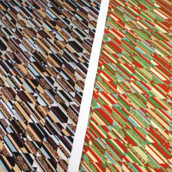 grande feuille de papier japonais Yusen Washi 50x66 cm 8048