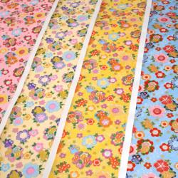 grande feuille de papier japonais Yusen Washi 50x66 cm Flower