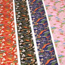 Japanese Washi paper Yuzen designed By Taniguchi Kyoto Japan 8012
