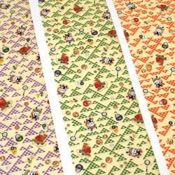 Japanese Washi paper Yuzen designed By Taniguchi Kyoto Japan 8027