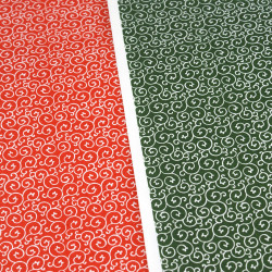Japanese Washi paper Yuzen designed By Taniguchi Kyoto Japan 8009