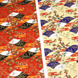Japanese Washi paper Yuzen designed By Taniguchi Kyoto Japan 8003