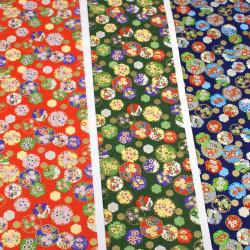 papier japonais Yuzen Washi designed By Taniguchi Kyoto Japan 8030