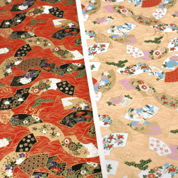 Japanese Washi paper Yuzen designed By Taniguchi Kyoto Japan 8026