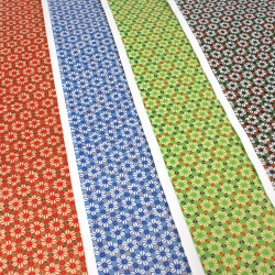 Japanese Washi paper Yuzen designed By Taniguchi Kyoto Japan 8021