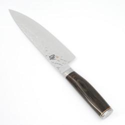 couteau de cuisine japonais KAI 20cm SHUN premier acier damas
