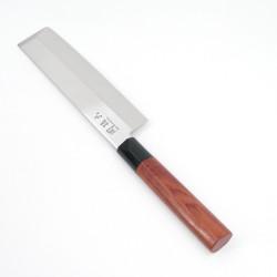 Japanese kitchen knives KAI Seki Magoroku red wood Nagiri
