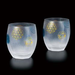 duo de verre japonais temari