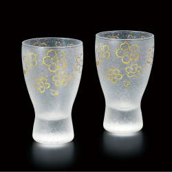 duo de verre japonais - sakura