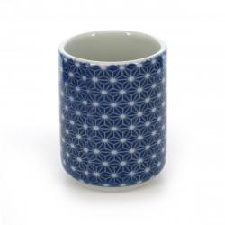 tasse traditionnelle japonaise à thé avec motifs ASANOHA