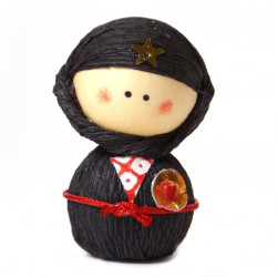 poupée japonaise okiagari doll NINJYA