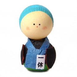 bambola giapponese, fatta di carta - okiagari, OBAASAN, operaio