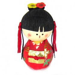 bambola giapponese, fatta di carta - okiagari, OHIMESAMA, principessa