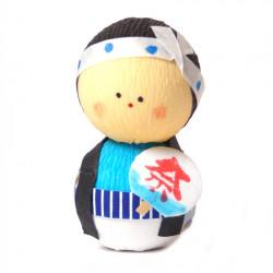 bambola giapponese, fatta di carta - okiagari, OMATSURI, uomo