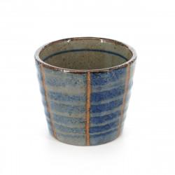 sake cup blue TOKUSA SOBA CHOKO