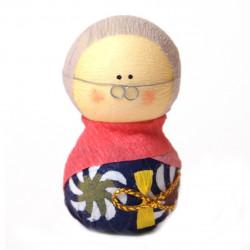 bambola giapponese, fatta di carta - okiagari, SOFUDO, donna