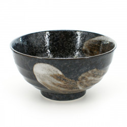 rice bowl for any type of use black ARASE