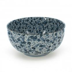 petit bol de riz traditionnel japonais BLUE FLOWER