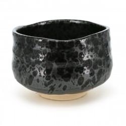 bol noir japonais pour cérémonie du thé 16M5961341E